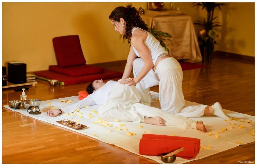 masaje yóguico